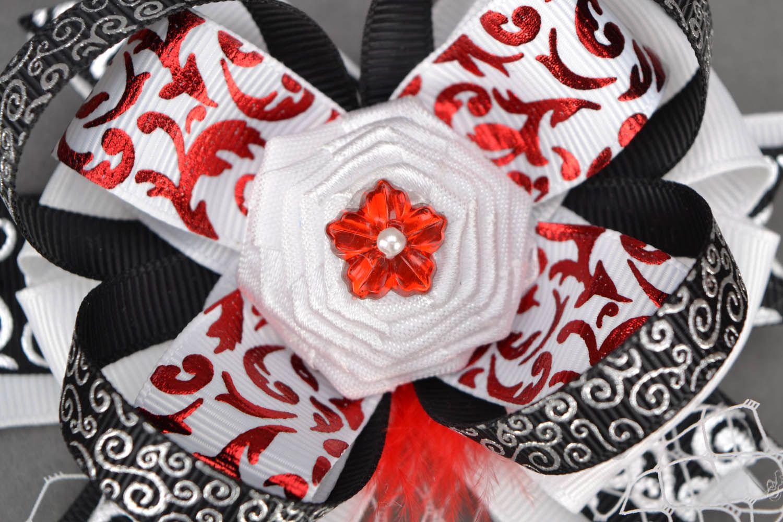 Bright hairpins Scarlet Flower photo 4