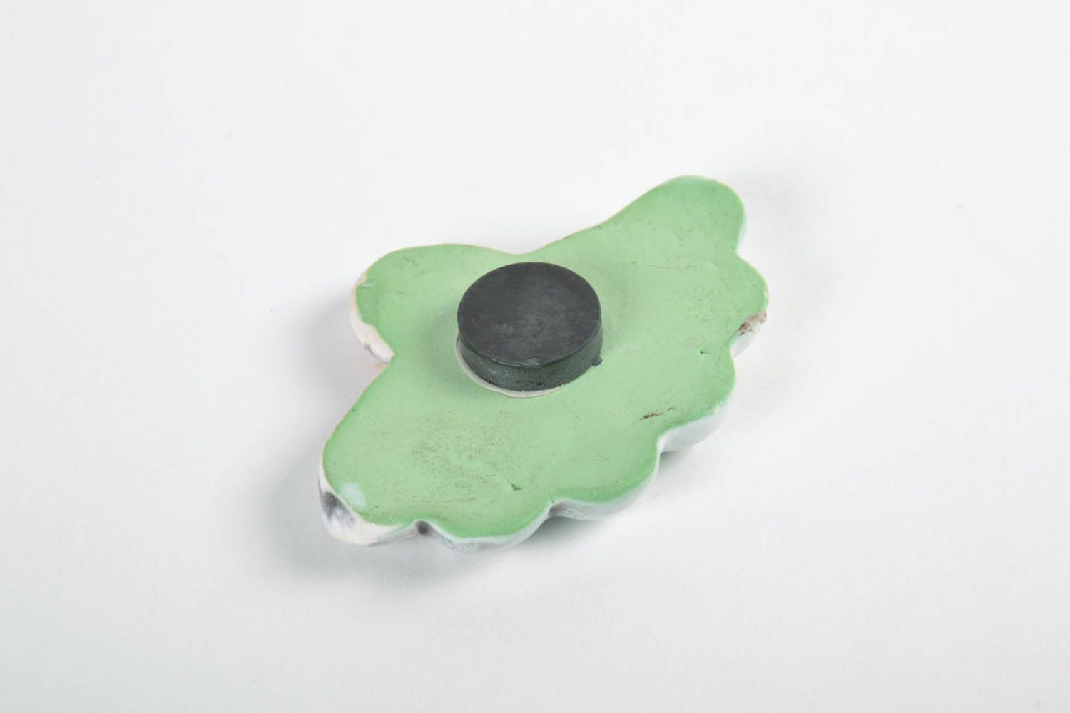 Flower ceramic magnet  photo 5
