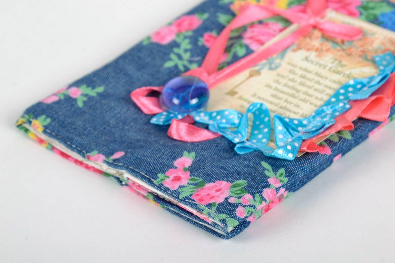 Fabric passport cover photo 2