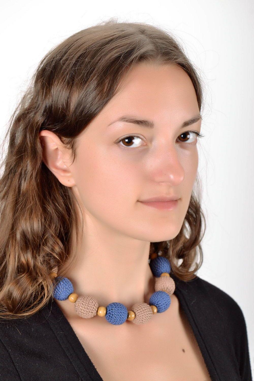 fabric jewelry Slingo beads - MADEheart.com