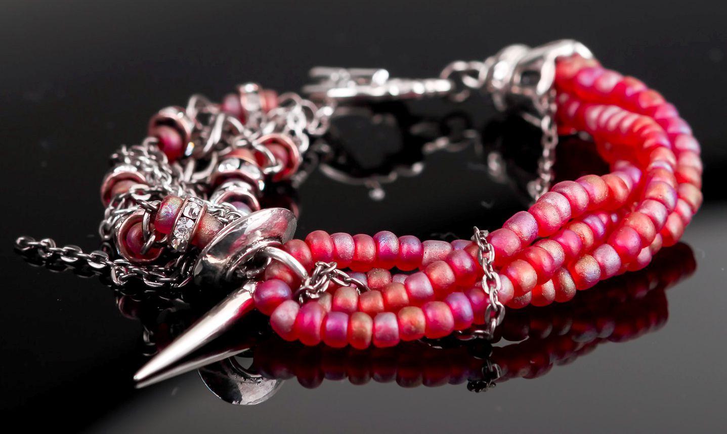 Czech beads bracelet-1
