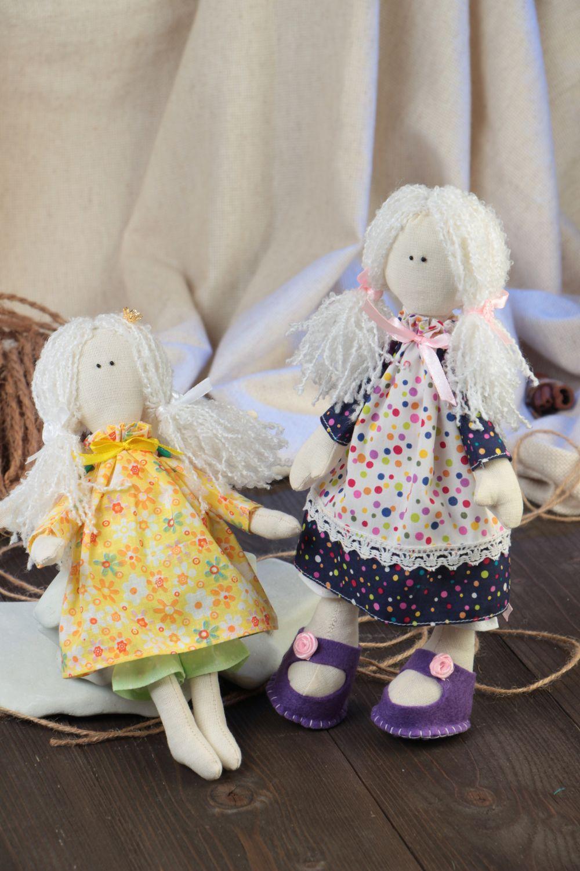 Авторские куклы из ткани