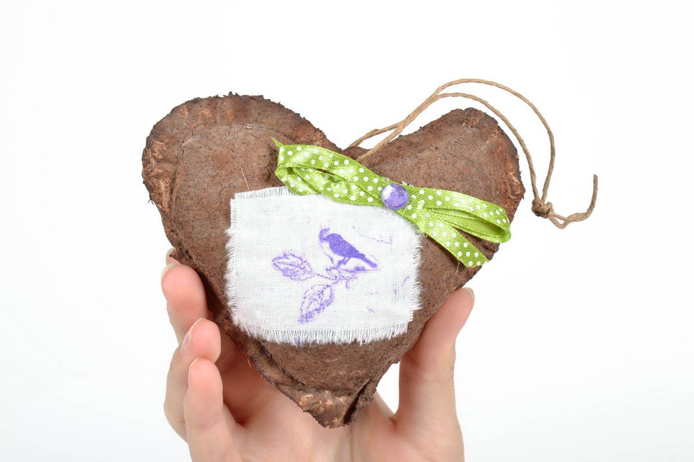 Interior pendant with aroma Chocolate Heart photo 5