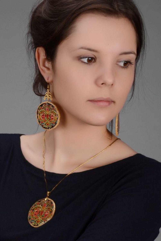 jewelry sets Jewelry set (earrings+pendant) - MADEheart.com