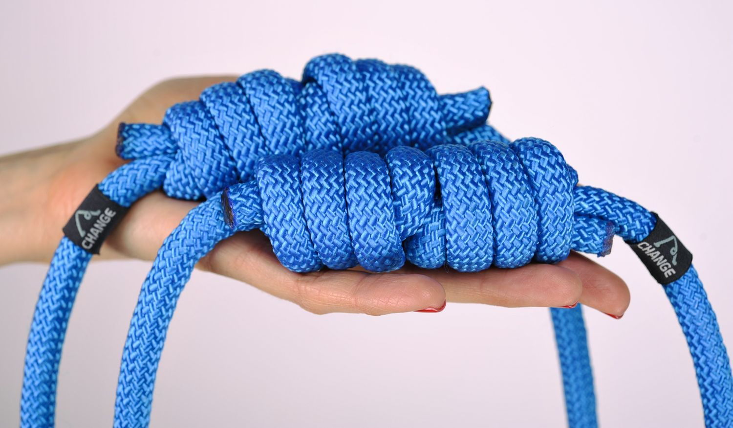 Rope with a knot for yoga practice  photo 3