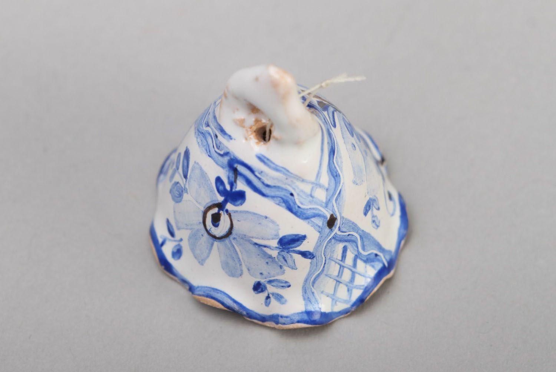 Tiny ceramic bell photo 2
