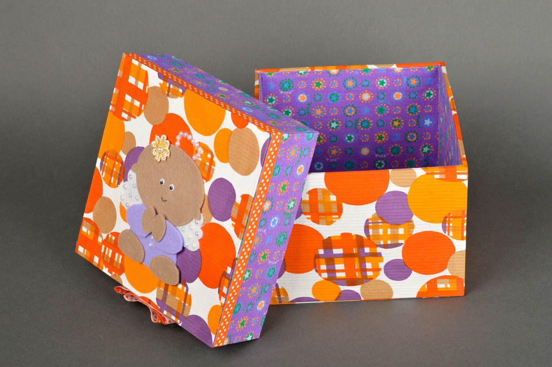 Madeheart caja decorada hecha a mano empaque creativo - Cajas decoradas a mano ...