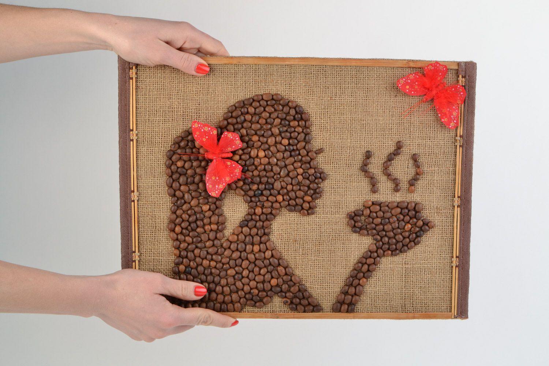 Картины из зерен кофе своими руками фото