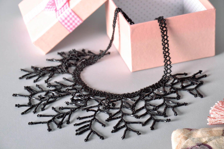 Homemade black necklet photo 1