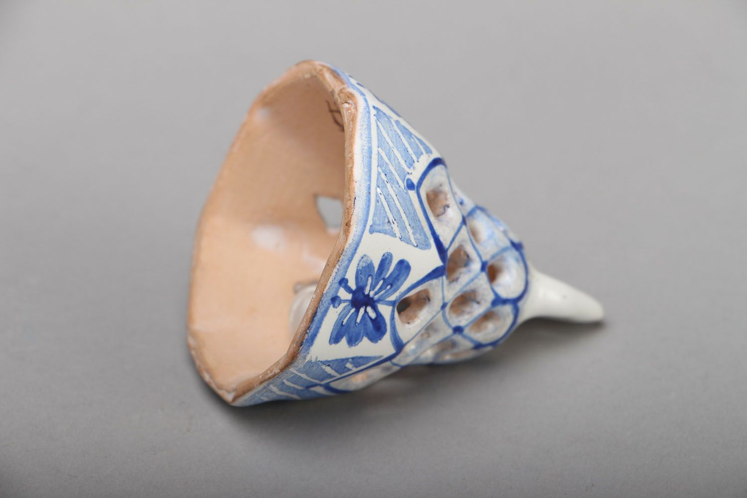 Painted ceramic bell photo 3