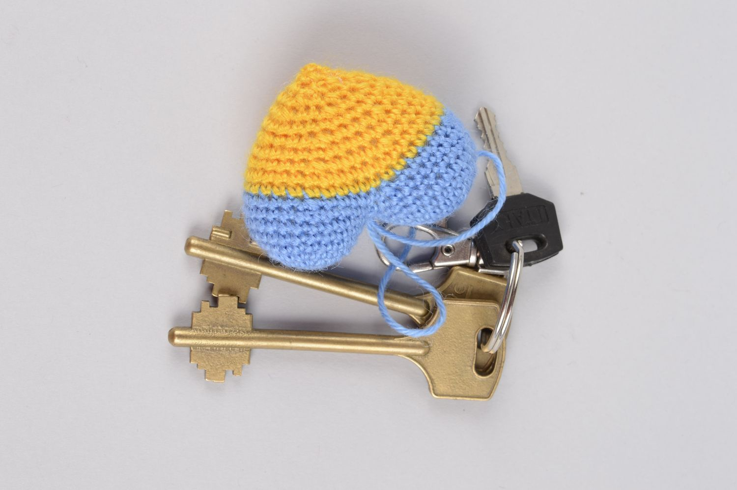 Beautiful handmade soft keychain crochet ideas fashion accessories gifts  for kid