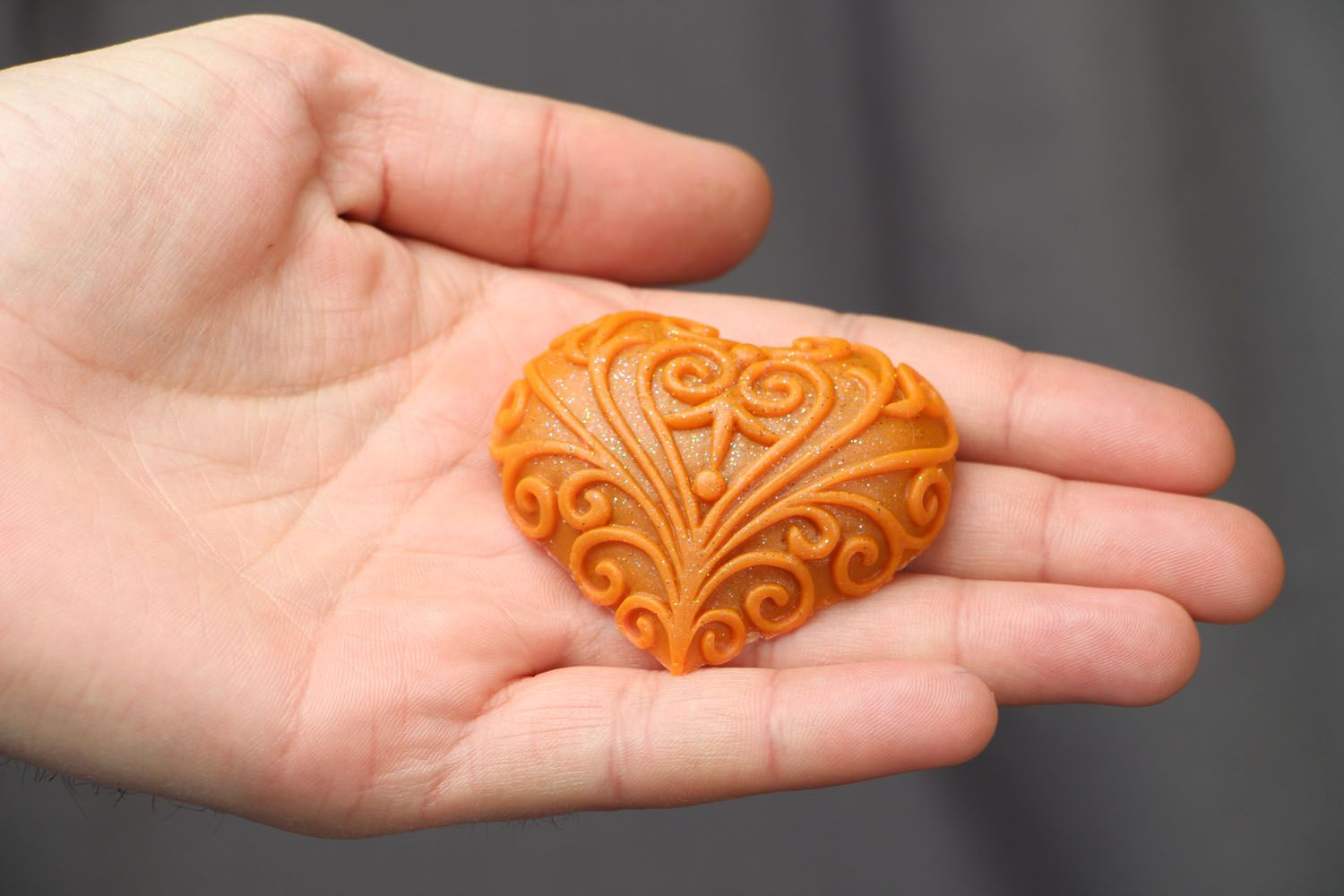 Natural soap Lacy Heart photo 3