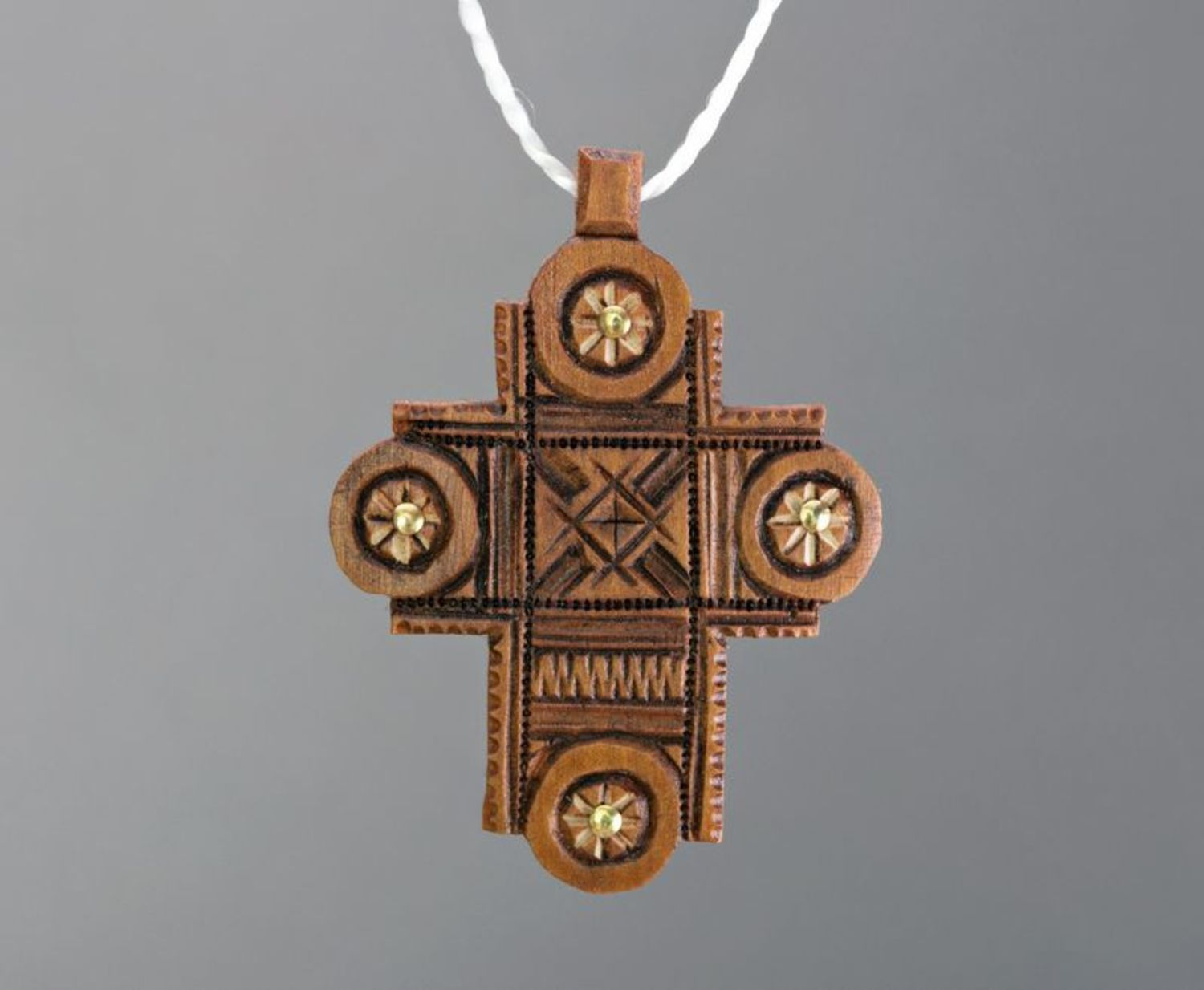 next to skin crosses Pectoral Wooden Cross - MADEheart.com