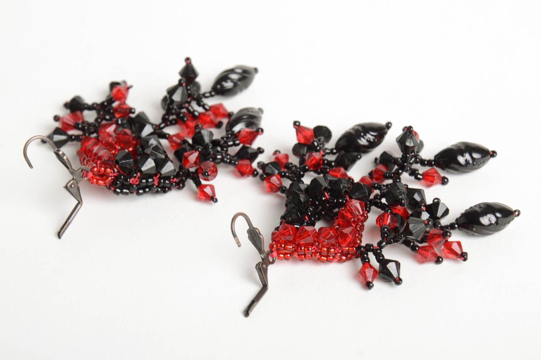 Designer jewelry handmade beaded earrings stylish beautiful earrings photo 3