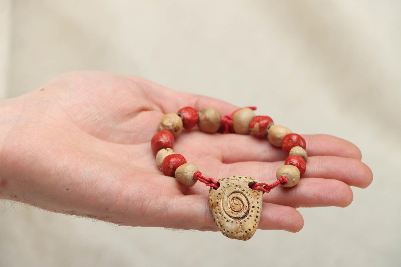Keramik Armband handgemacht foto 3