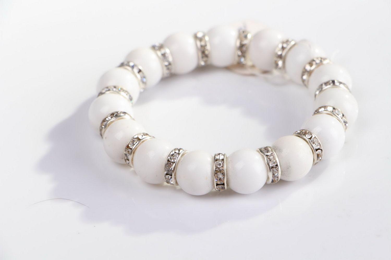 Bracelet with elastic band photo 4
