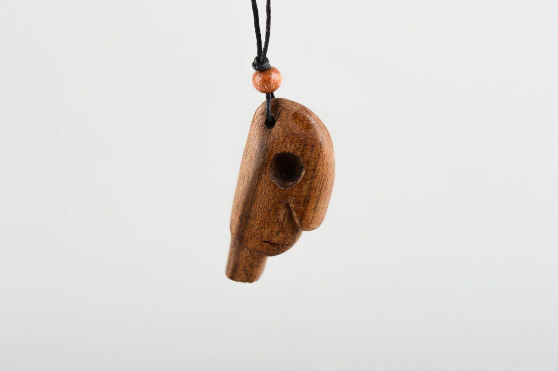 Gift Pendant streudeko deco wood Pendant DIY Craft Untreated Birch 3mm