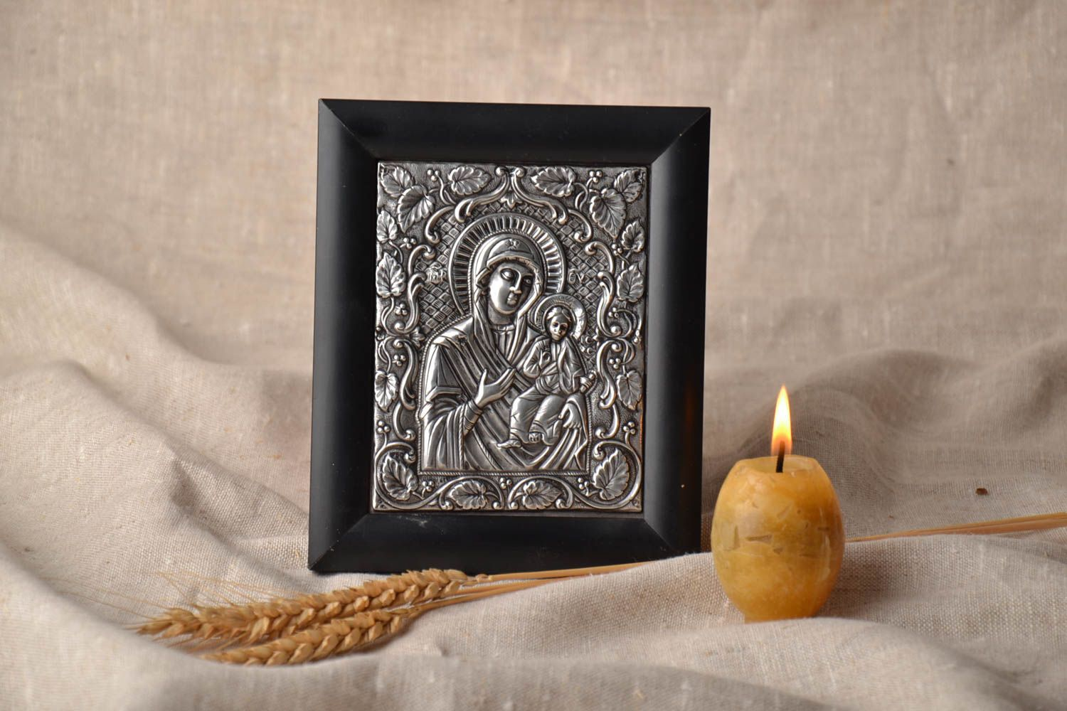 Orthodox icon of the Virgin and Child photo 1