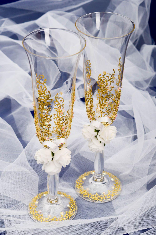 compromiso Juego de tazas de tostado para parejas boda Creative Heart Set de copas de champ/án regalo de inauguraci/ón de la casa Rosado. Copas de boda para novia y novio