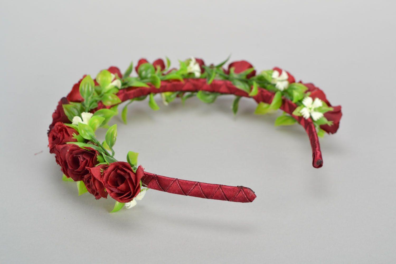 Head wreath Vinous photo 4