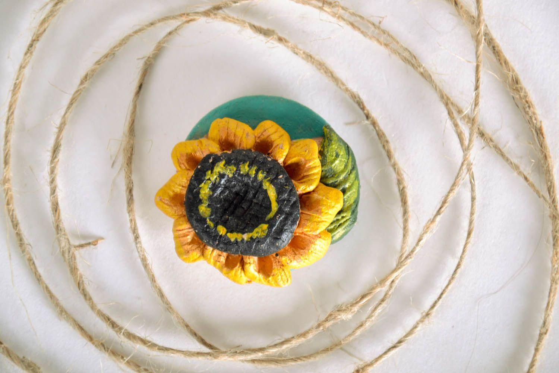 Fridge magnet Sunflower photo 1
