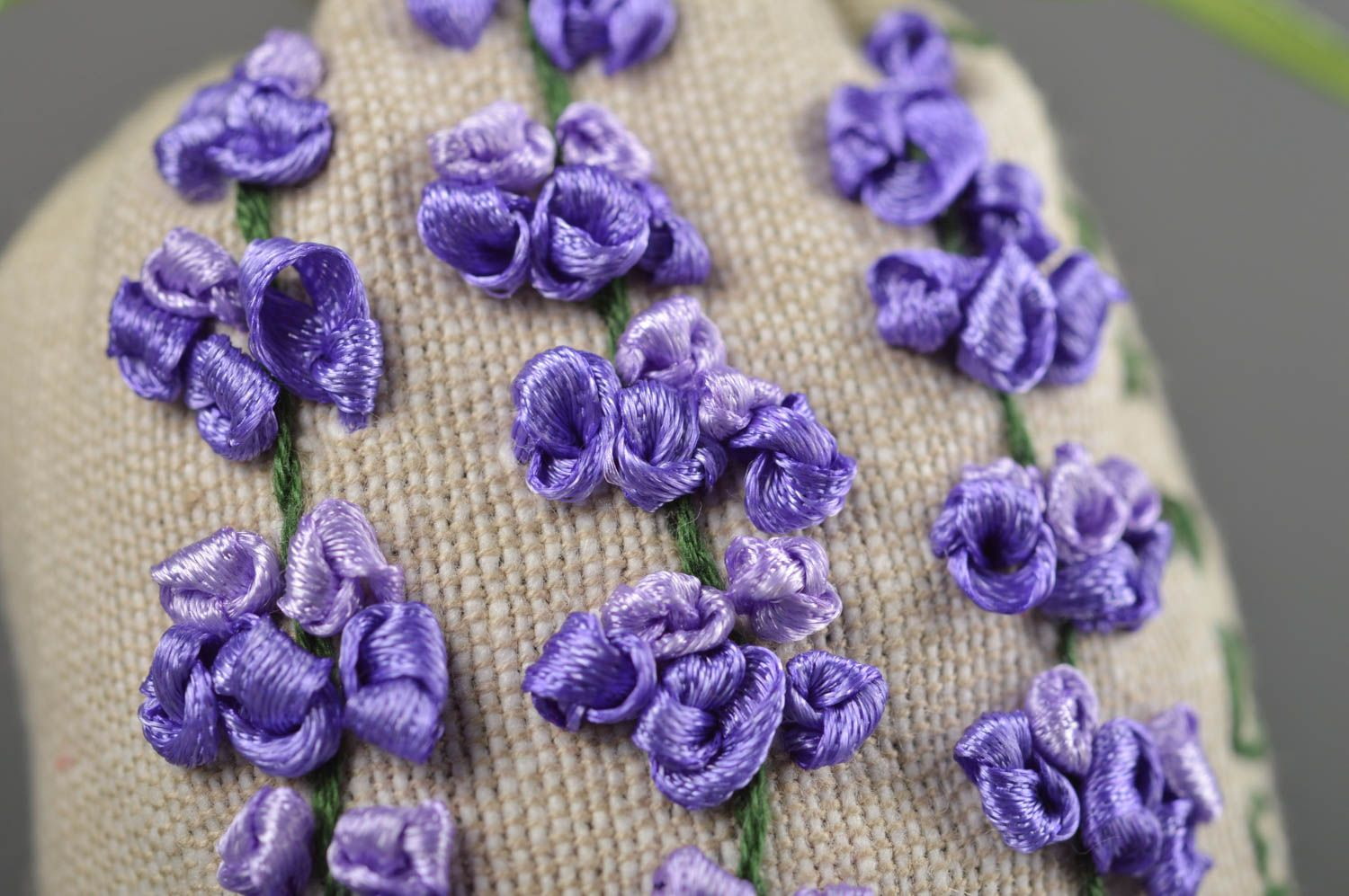 Handmade bags for aromatic sachets cute embroidered bag decorative use only photo 3