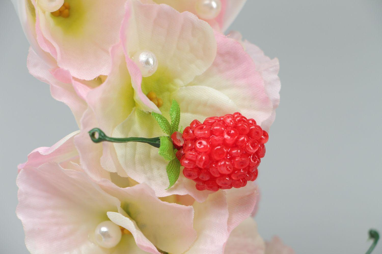 Handmade flower cup photo 2