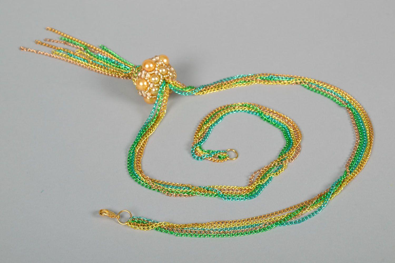 Anhänger aus Perlen handmade foto 5