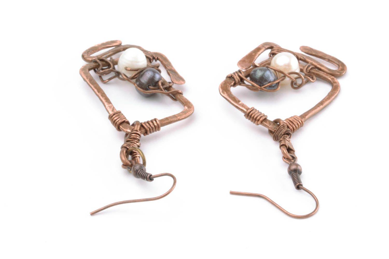Copper earrings Overseas Dreams photo 1