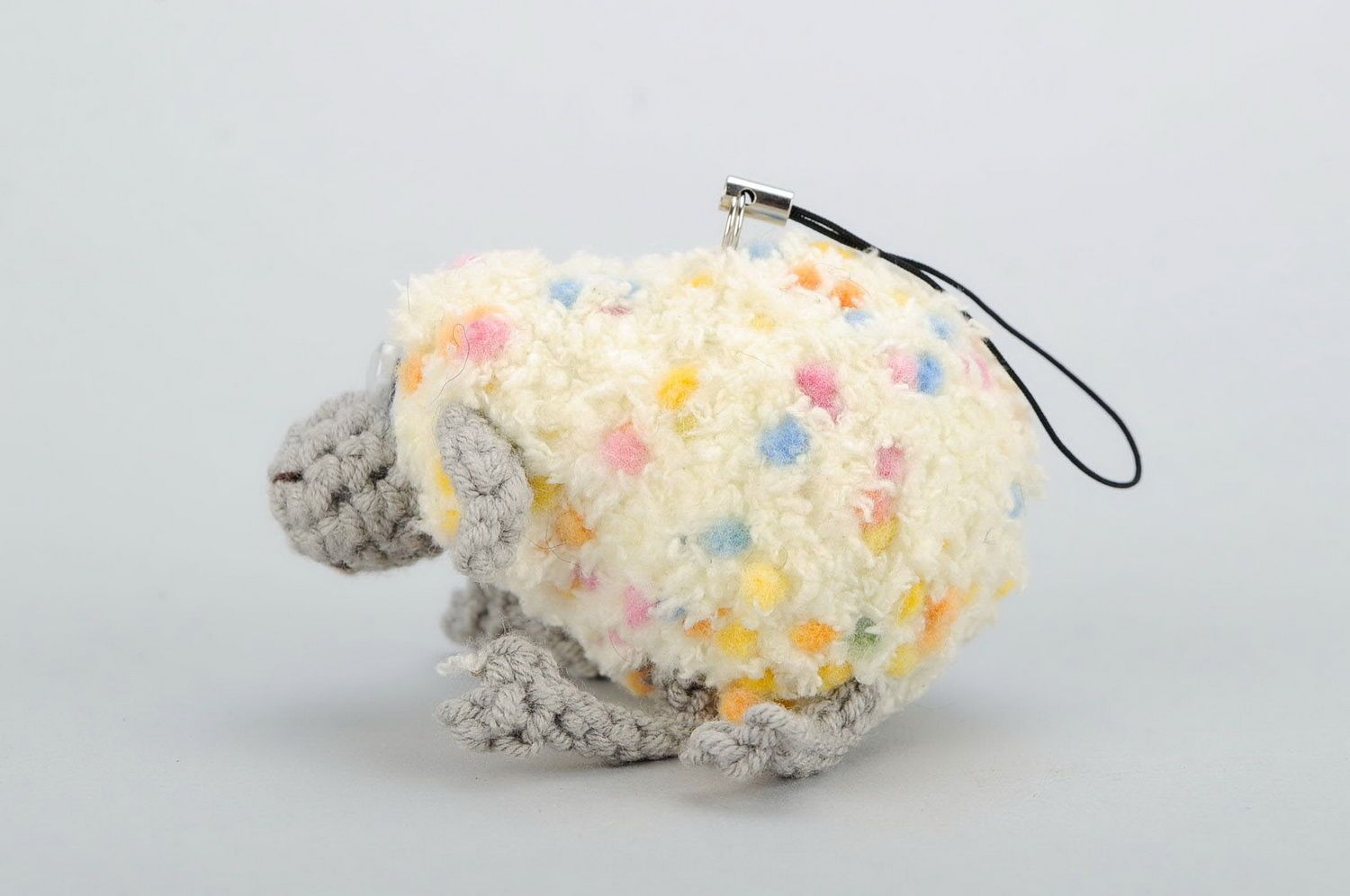 Crochet keychain Sheep photo 5
