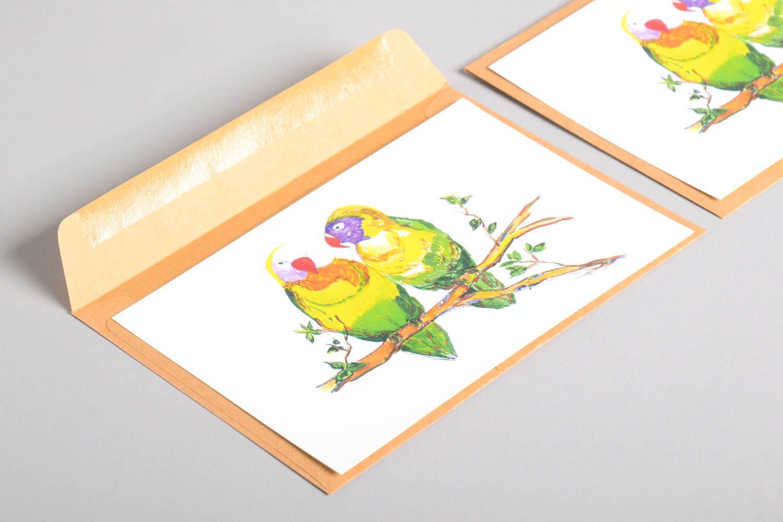 Handmade greeting cards birthday cards designer postcards modern painting photo 5