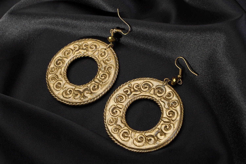 Round earrings  photo 3
