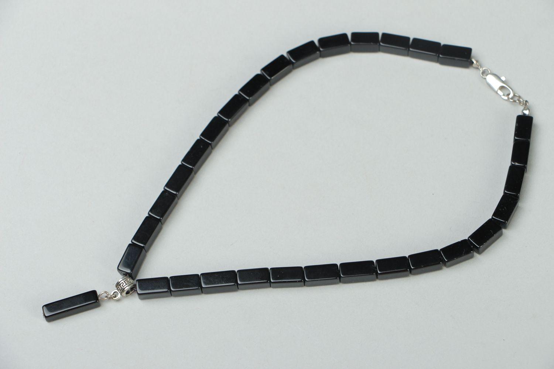 Handmade Czech glass chocker necklace Pallas photo 1