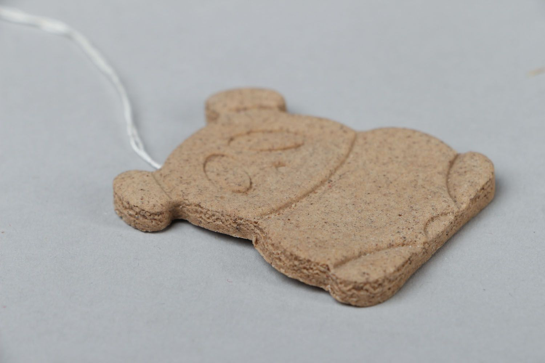 Fragrant cookie made of salt dough photo 2
