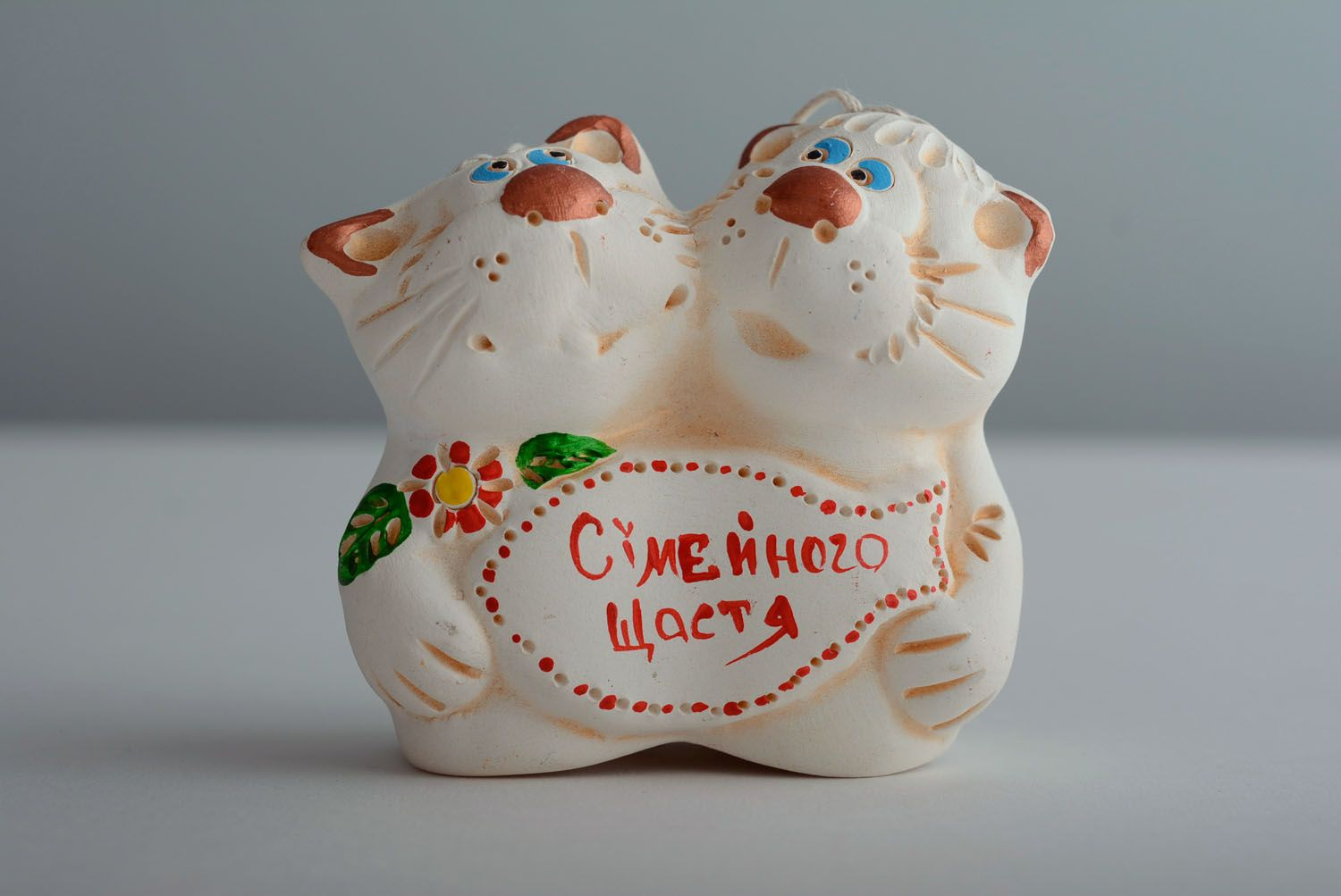 Lovely ceramic bell Cats photo 1