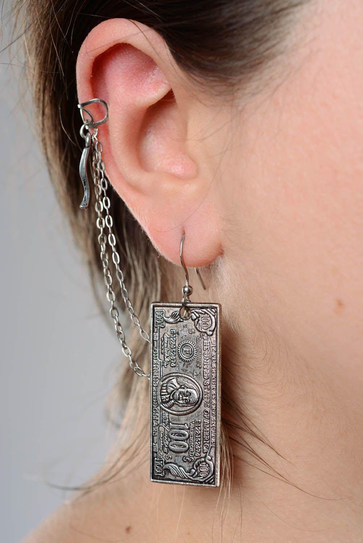 Cuff earrings Dollars photo 3
