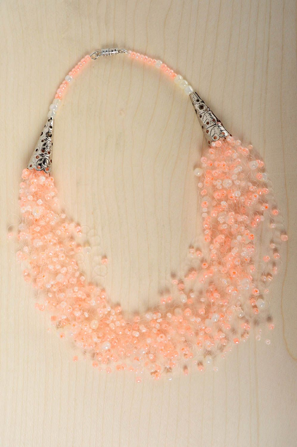 Homemade beaded necklace photo 5