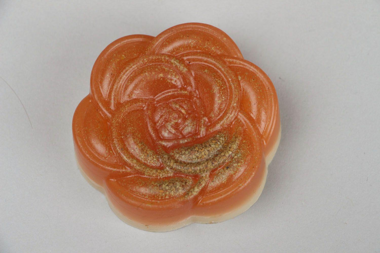 Natural soap Rose photo 3