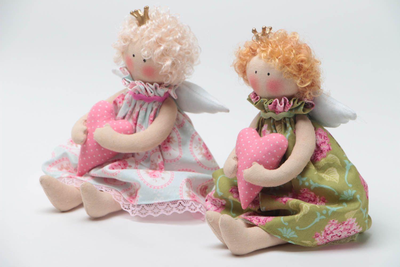 Мягкие игрушки ручной работы авторские