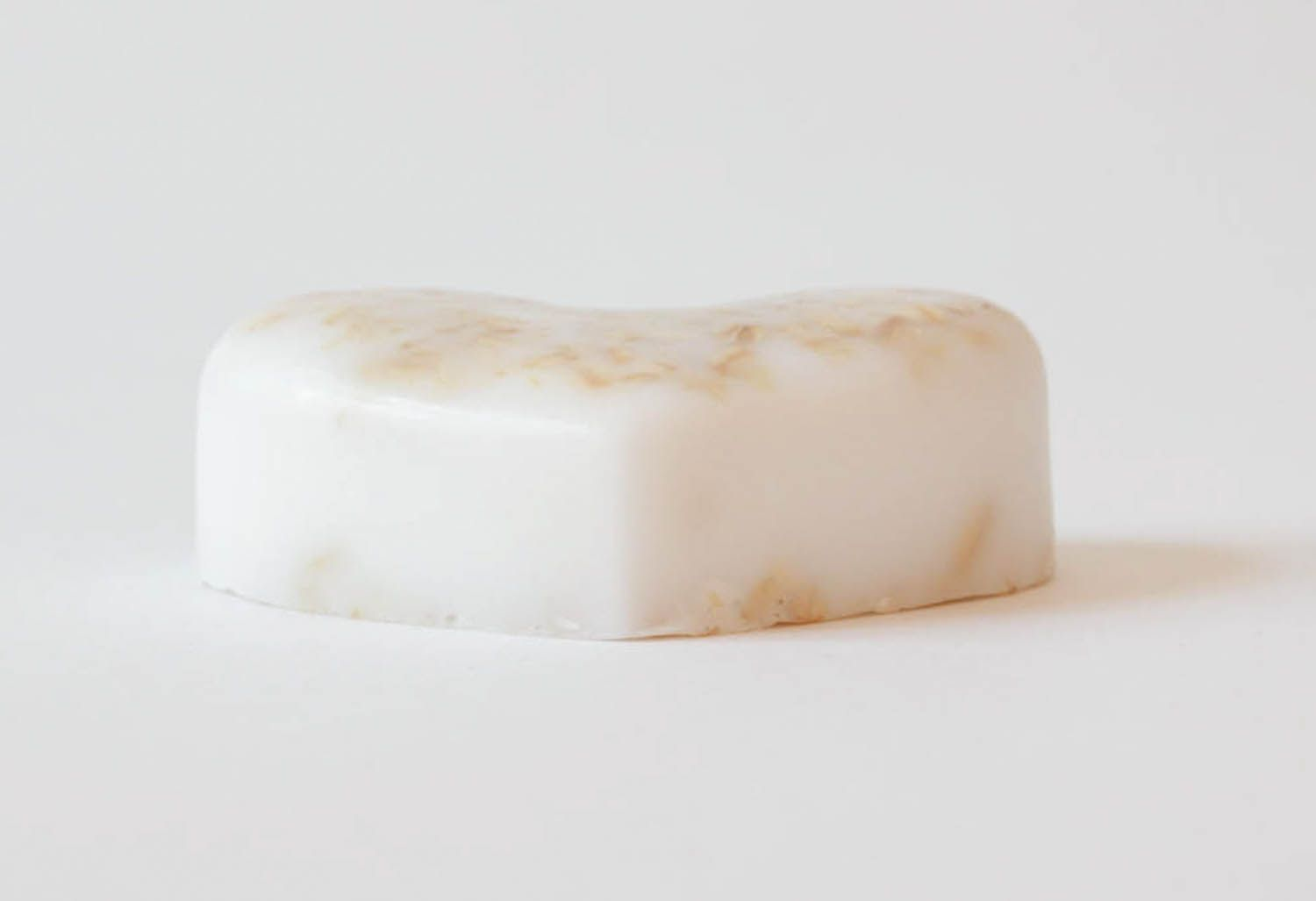 Scrub soap for face with porridge and sesame photo 1