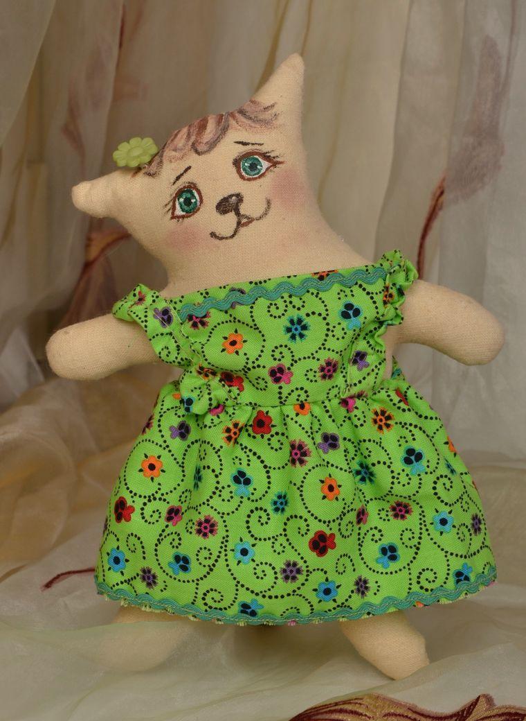 Handmade toy Cat photo 1