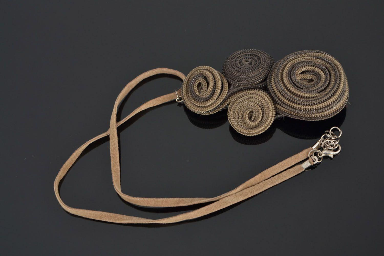 Zipper necklace photo 1