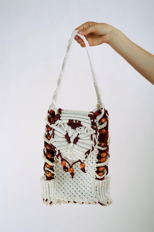 women's handbags Woven handmade shoulder bag - MADEheart.com