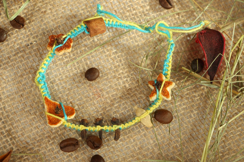 Wrist friendship bracelet Aroma photo 5
