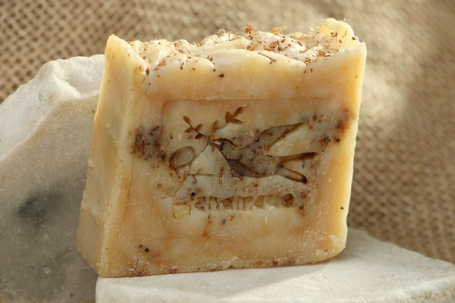 Handmade soap on the broth of linden blossom photo 1