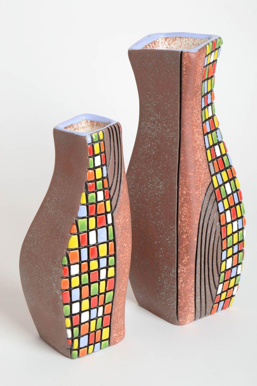 Madeheart jarrones decorativos hechos a mano decoraci n for Jarrones decorativos grandes