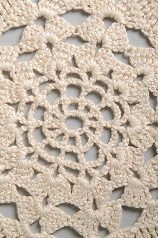 MADEHEART > Servilletas tejidas a crochet artesanales decoración de ...