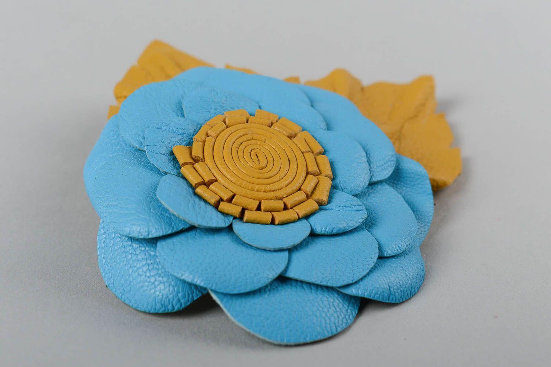 madeheart barrette cheveux broche fleur fait main. Black Bedroom Furniture Sets. Home Design Ideas