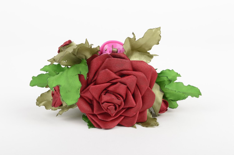 Handmade designer accessory elegant flower hair clip feminine cute hair clip photo 2