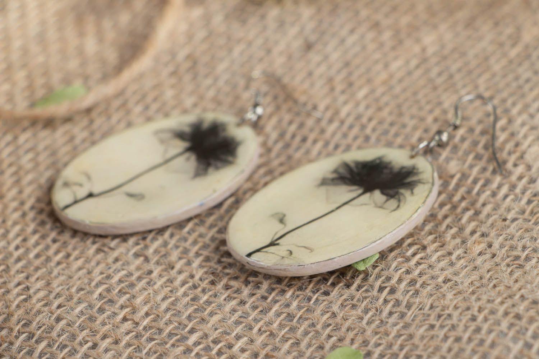 Oval earrings  photo 2